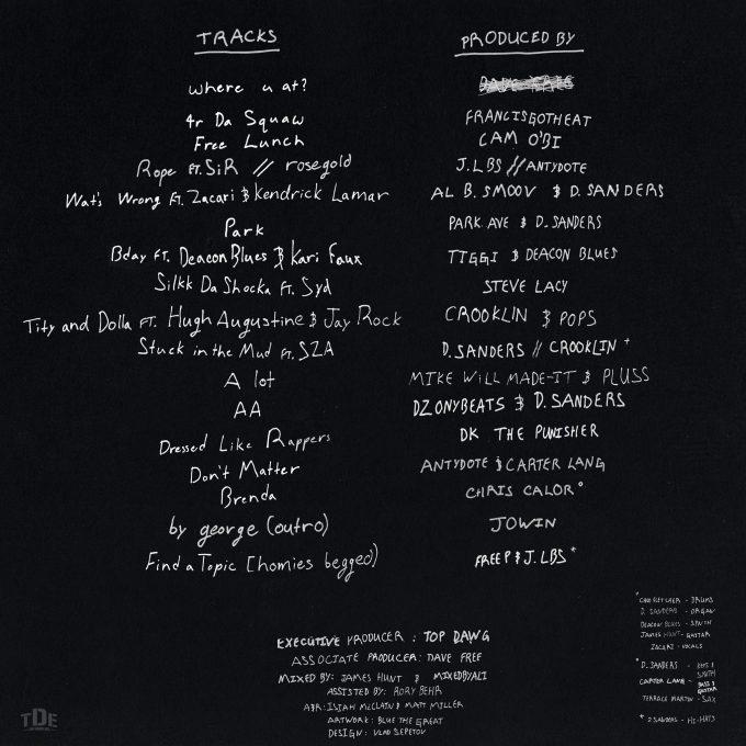 isaiah-rashad-tst-tracklist