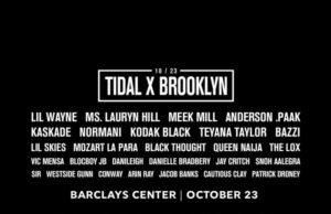 Tidal X: Brooklyn