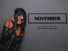 November | by miixtapechiick