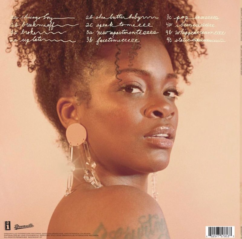 Ari-Lennox-Shea-Butter-Baby-Tracklist-800x791